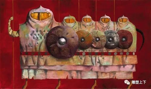 充满童年回忆的俄罗斯布里亚特艺术家佐里克托·多尔吉耶夫 第13张