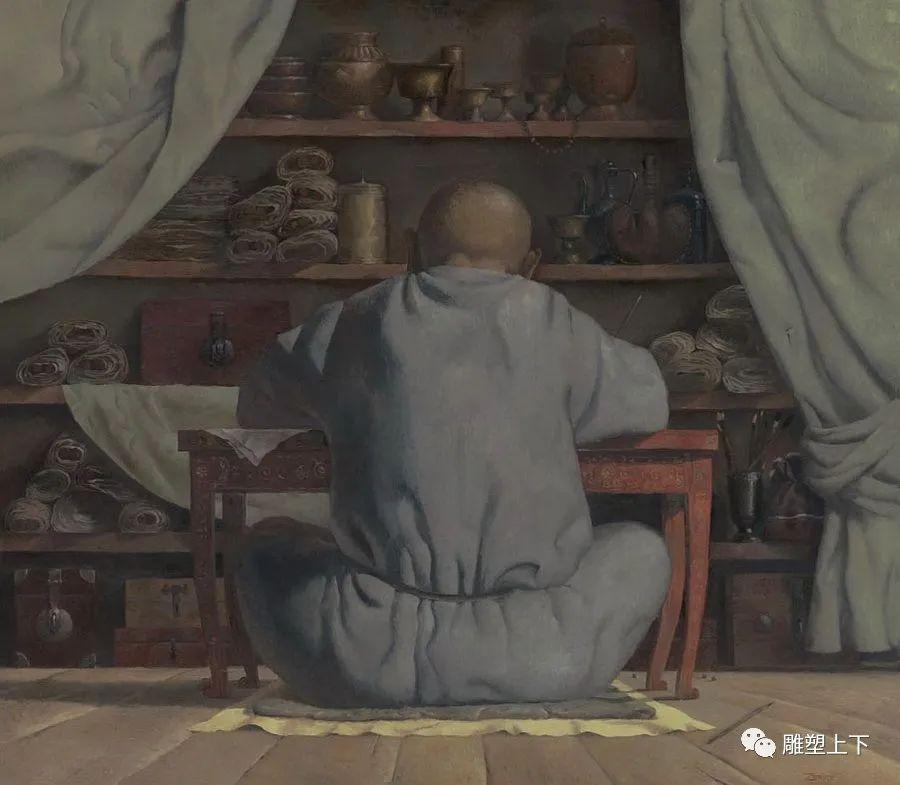 充满童年回忆的俄罗斯布里亚特艺术家佐里克托·多尔吉耶夫 第12张