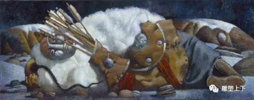 充满童年回忆的俄罗斯布里亚特艺术家佐里克托·多尔吉耶夫 第16张