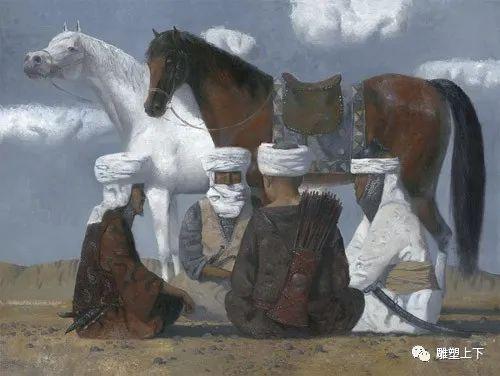 充满童年回忆的俄罗斯布里亚特艺术家佐里克托·多尔吉耶夫 第21张