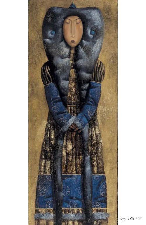 充满童年回忆的俄罗斯布里亚特艺术家佐里克托·多尔吉耶夫 第32张