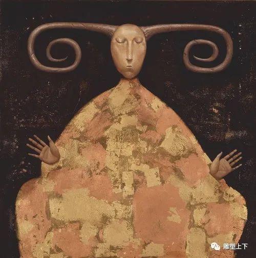 充满童年回忆的俄罗斯布里亚特艺术家佐里克托·多尔吉耶夫 第33张