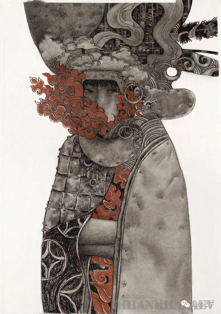 充满童年回忆的俄罗斯布里亚特艺术家佐里克托·多尔吉耶夫 第37张
