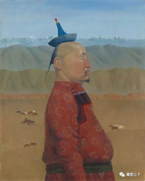 充满童年回忆的俄罗斯布里亚特艺术家佐里克托·多尔吉耶夫 第38张