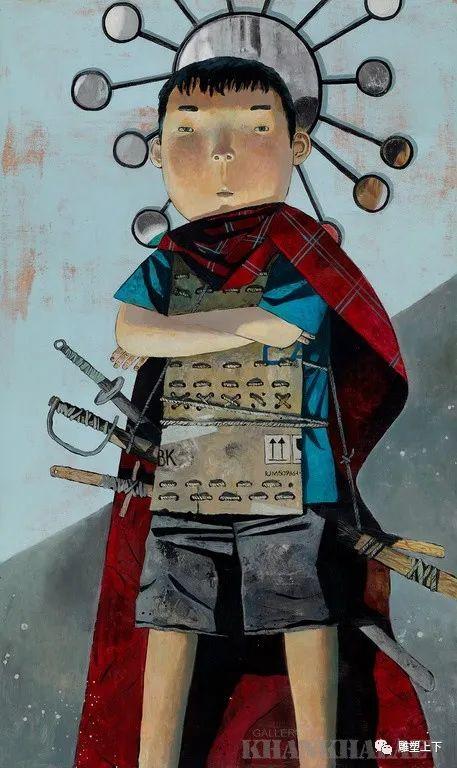 充满童年回忆的俄罗斯布里亚特艺术家佐里克托·多尔吉耶夫 第45张