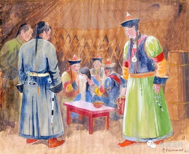 布里亚特女孩子出嫁前的一趟庄严必修课 第2张 布里亚特女孩子出嫁前的一趟庄严必修课 蒙古文化