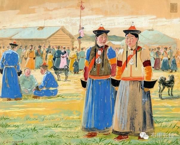 布里亚特女孩子出嫁前的一趟庄严必修课 第1张 布里亚特女孩子出嫁前的一趟庄严必修课 蒙古文化