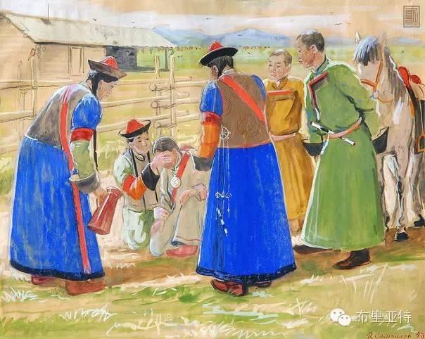 布里亚特女孩子出嫁前的一趟庄严必修课 第5张 布里亚特女孩子出嫁前的一趟庄严必修课 蒙古文化