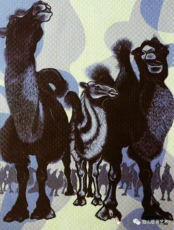 时代芳华 | 内蒙古女版画家作品录 第10张
