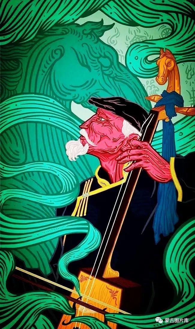 【蒙古图片】一组蒙古插画屏保,绝对独一无二! 第1张 【蒙古图片】一组蒙古插画屏保,绝对独一无二! 蒙古画廊
