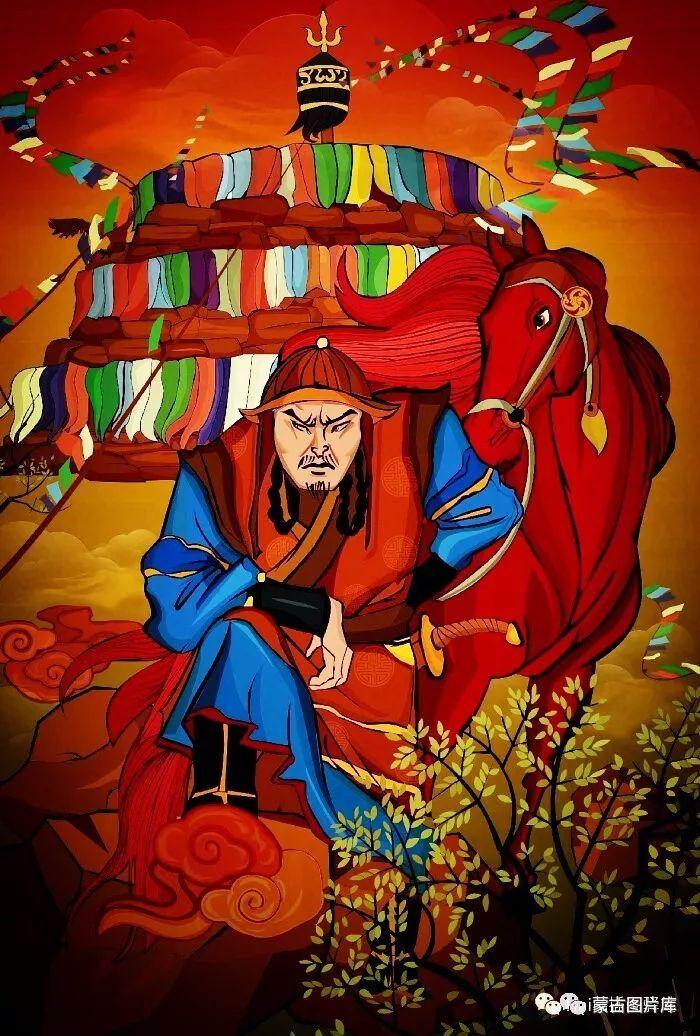 【蒙古图片】一组蒙古插画屏保,绝对独一无二! 第6张 【蒙古图片】一组蒙古插画屏保,绝对独一无二! 蒙古画廊