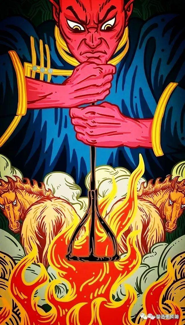 【蒙古图片】一组蒙古插画屏保,绝对独一无二! 第5张 【蒙古图片】一组蒙古插画屏保,绝对独一无二! 蒙古画廊