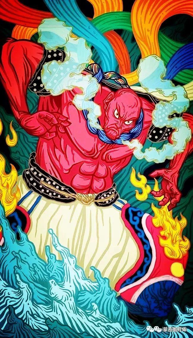 【蒙古图片】一组蒙古插画屏保,绝对独一无二! 第4张 【蒙古图片】一组蒙古插画屏保,绝对独一无二! 蒙古画廊