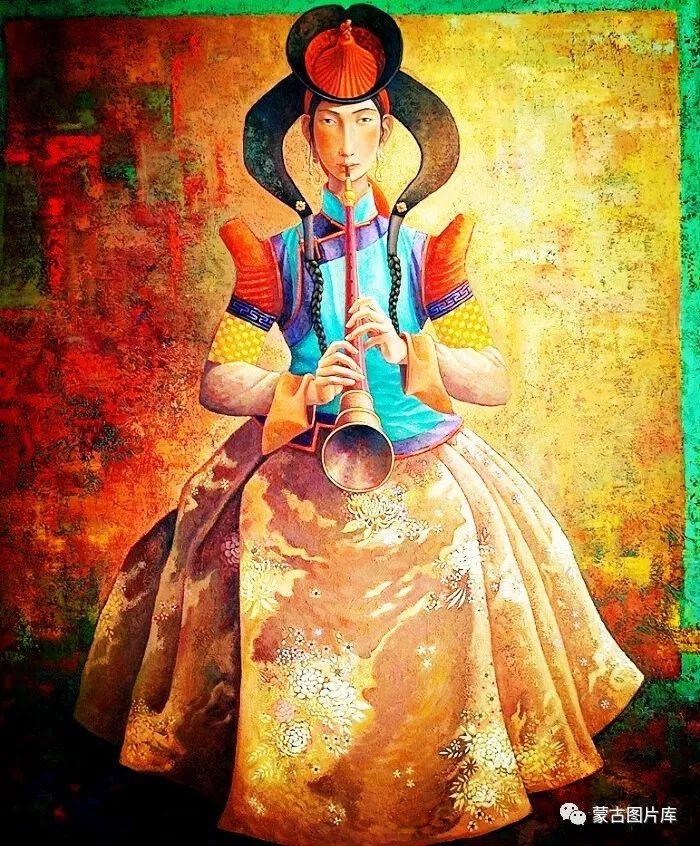 【蒙古图片】一组蒙古插画屏保,绝对独一无二! 第9张 【蒙古图片】一组蒙古插画屏保,绝对独一无二! 蒙古画廊
