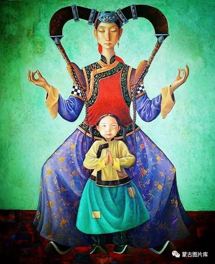 【蒙古图片】一组蒙古插画屏保,绝对独一无二! 第8张 【蒙古图片】一组蒙古插画屏保,绝对独一无二! 蒙古画廊
