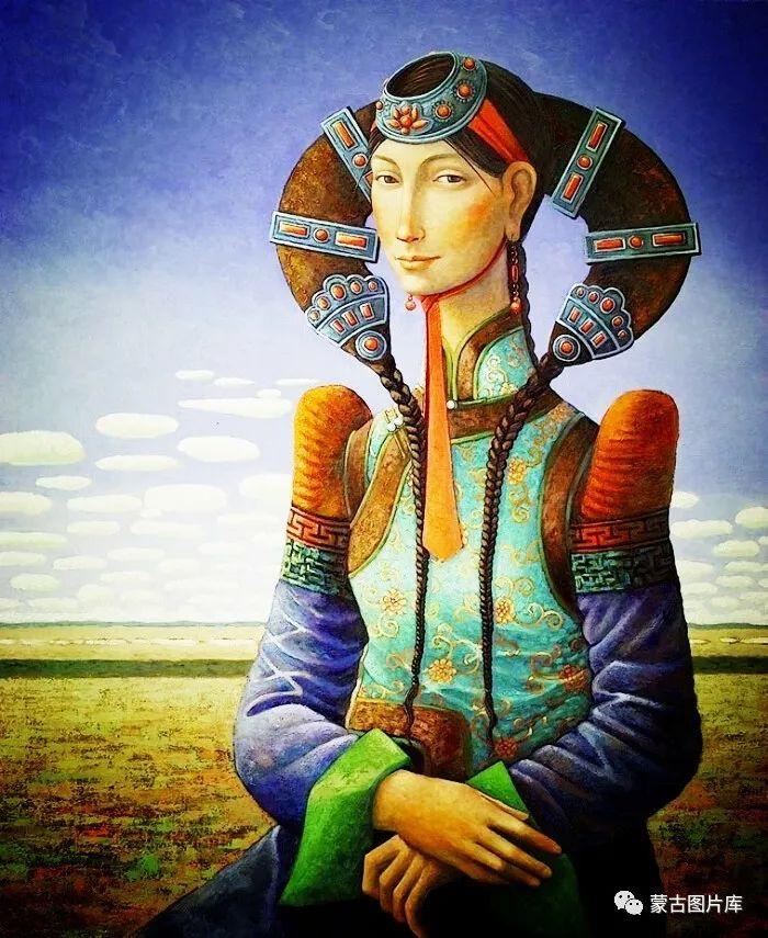 【蒙古图片】一组蒙古插画屏保,绝对独一无二! 第7张 【蒙古图片】一组蒙古插画屏保,绝对独一无二! 蒙古画廊