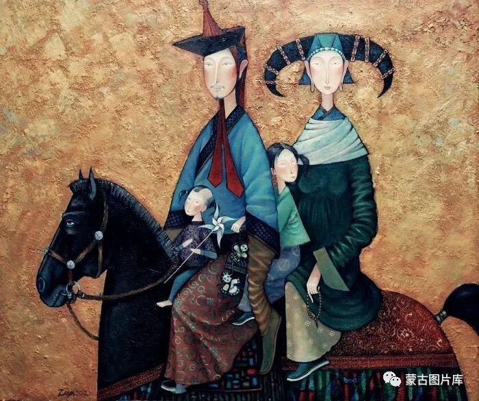 【蒙古图片】一组蒙古插画屏保,绝对独一无二! 第13张 【蒙古图片】一组蒙古插画屏保,绝对独一无二! 蒙古画廊