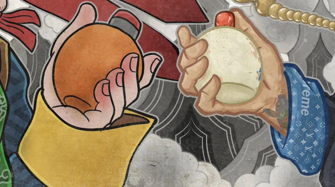 「無南刺青」蒙古国插画艺术家EMAK×無南·伊德尔《赏鼻烟壶》 第5张 「無南刺青」蒙古国插画艺术家EMAK×無南·伊德尔《赏鼻烟壶》 蒙古画廊
