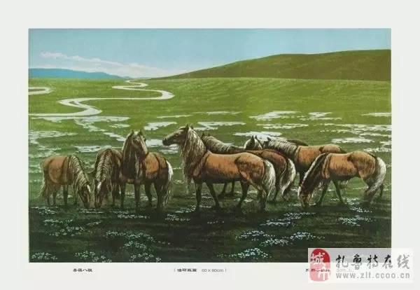 ? 扎鲁特版画艺术传承人特·照那木拉作品欣赏~~有一种草原的味道~ 第18张