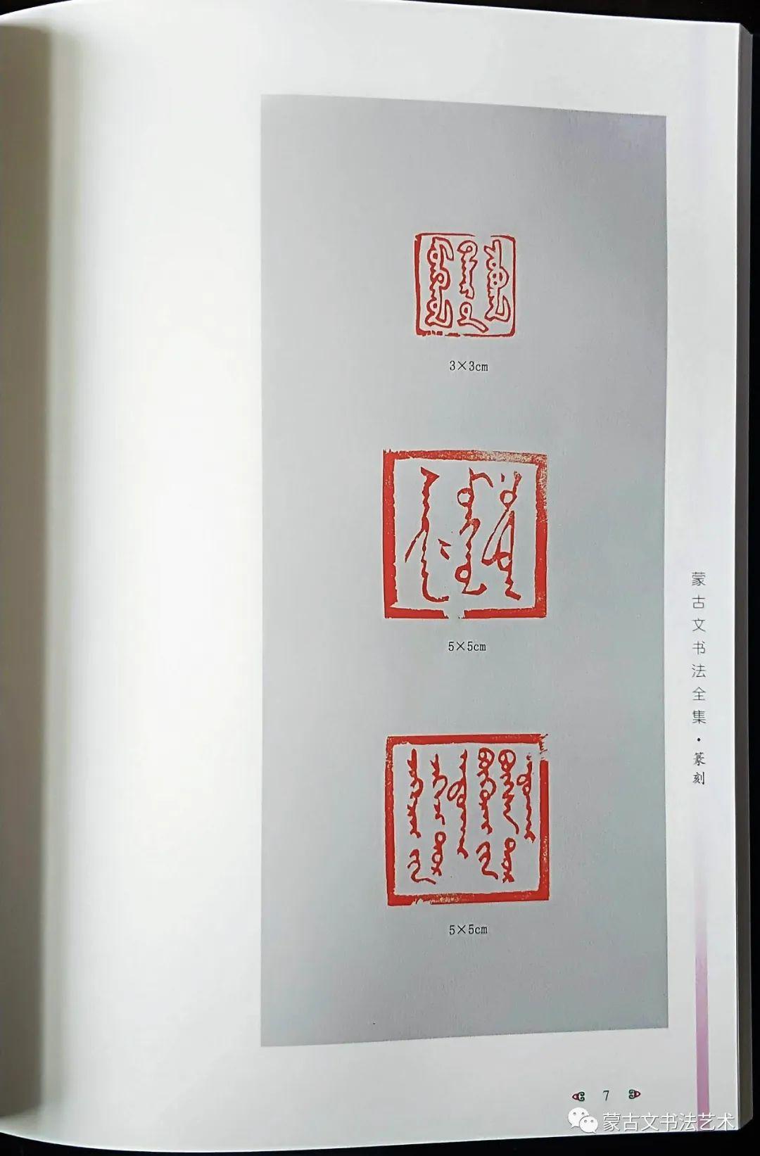 蒙古文书法全集 第28张