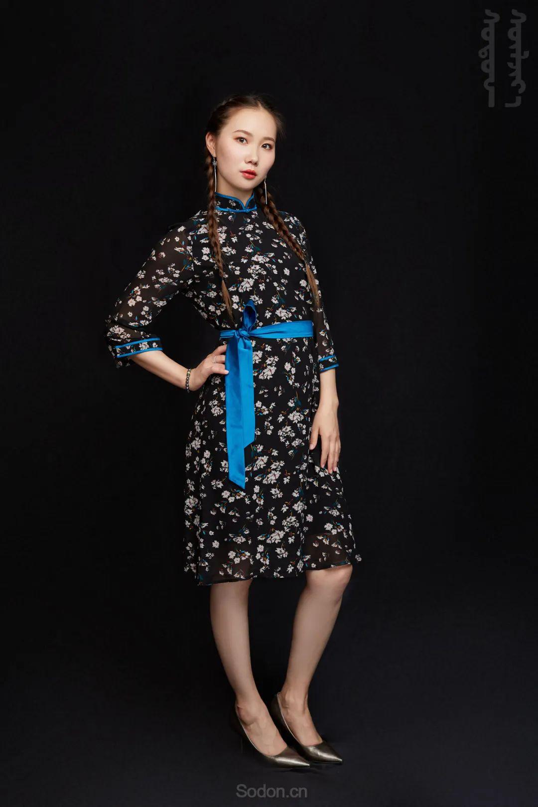 DOMOG蒙古时装2020新款夏季连衣裙首发,618钜惠七折! 第1张