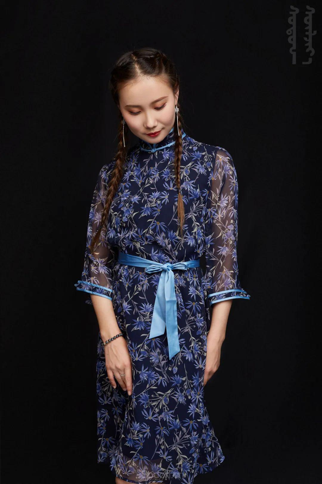 DOMOG蒙古时装2020新款夏季连衣裙首发,618钜惠七折! 第6张