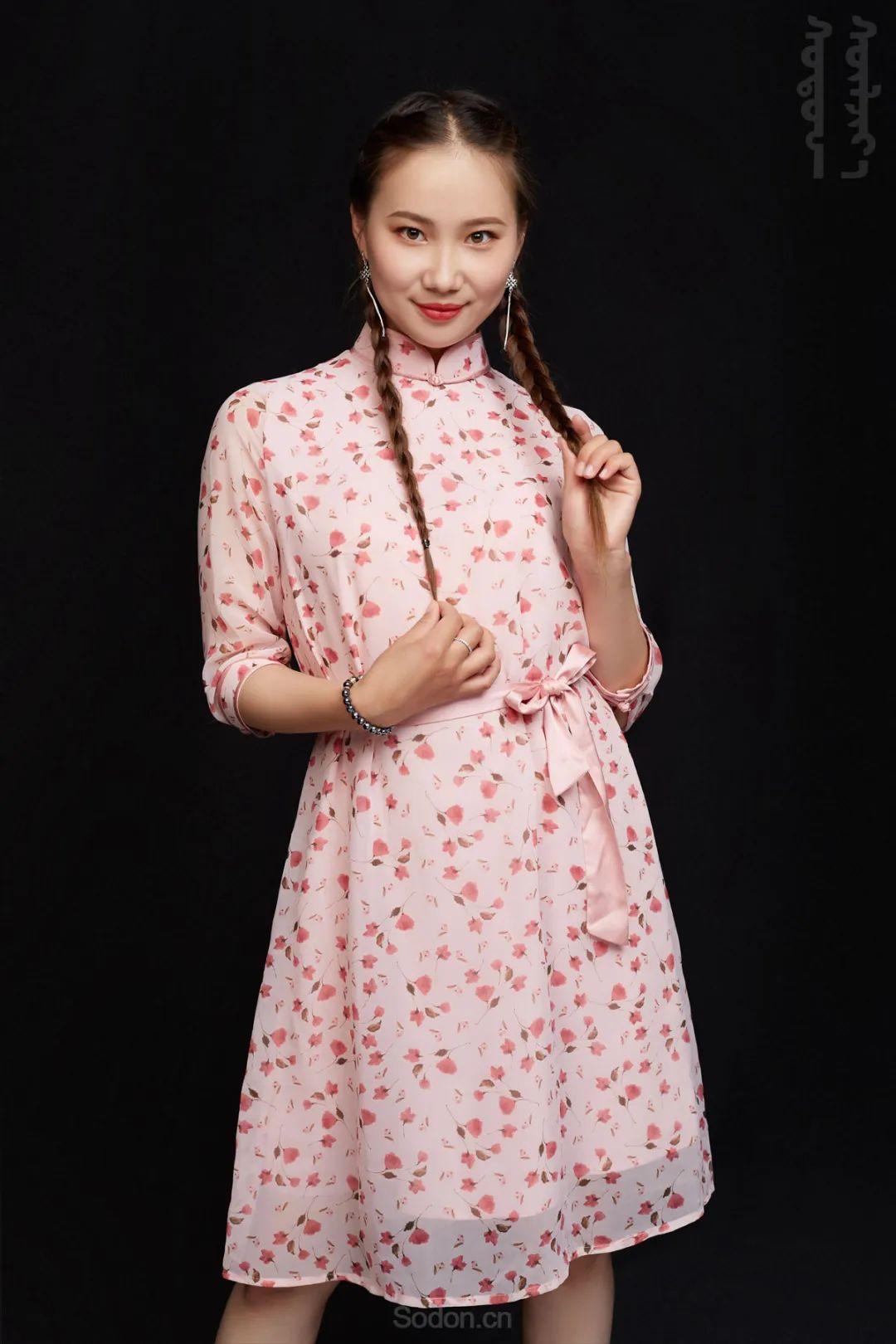 DOMOG蒙古时装2020新款夏季连衣裙首发,618钜惠七折! 第13张