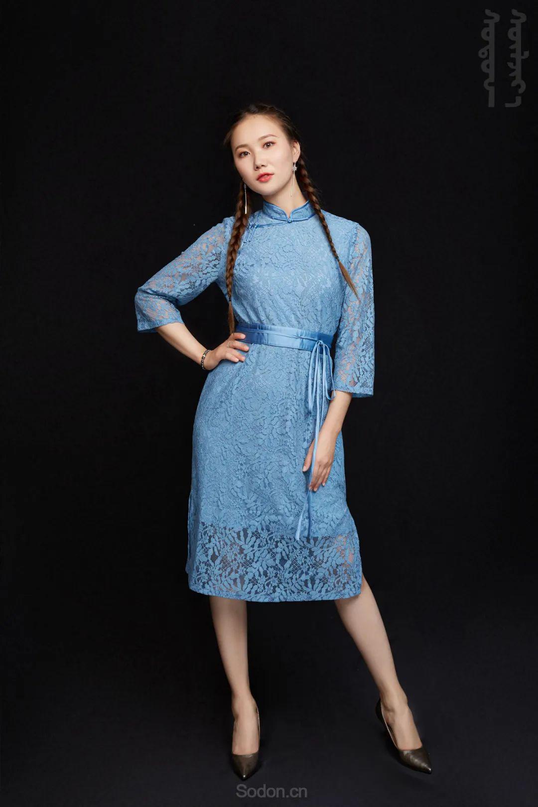 DOMOG蒙古时装2020新款夏季连衣裙首发,618钜惠七折! 第18张