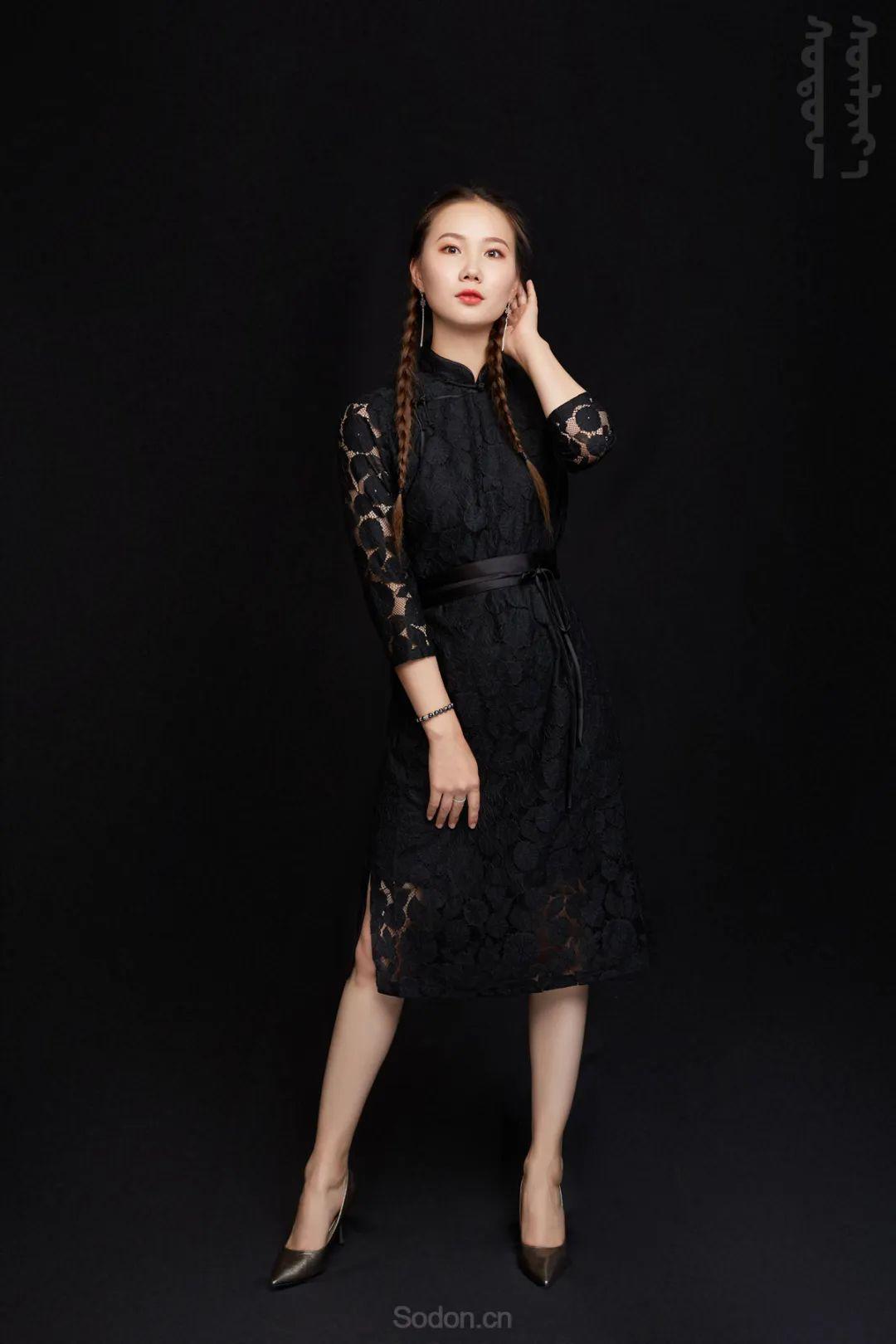DOMOG蒙古时装2020新款夏季连衣裙首发,618钜惠七折! 第16张