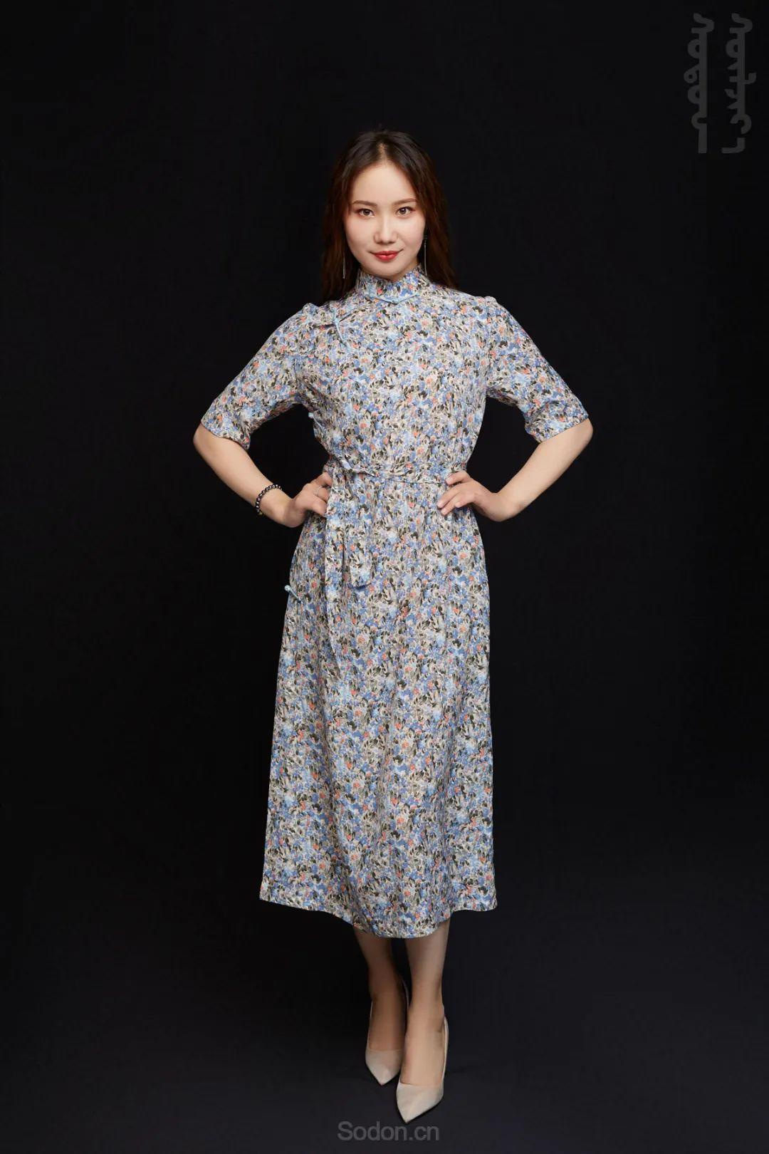 DOMOG蒙古时装2020新款夏季连衣裙首发,618钜惠七折! 第21张