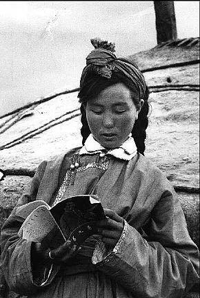 老照片:1965年,法国摄影师拍摄文革前的内蒙古 第3张