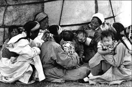 老照片:1965年,法国摄影师拍摄文革前的内蒙古 第7张