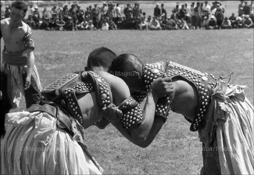 老照片:1965年,法国摄影师拍摄文革前的内蒙古 第13张