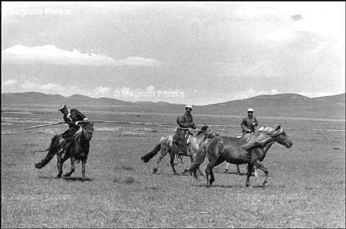 老照片:1965年,法国摄影师拍摄文革前的内蒙古 第11张