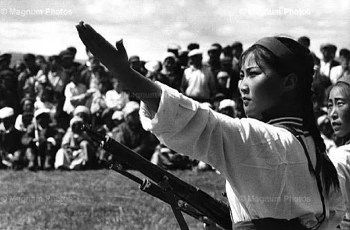 老照片:1965年,法国摄影师拍摄文革前的内蒙古 第15张
