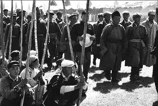 老照片:1965年,法国摄影师拍摄文革前的内蒙古 第16张