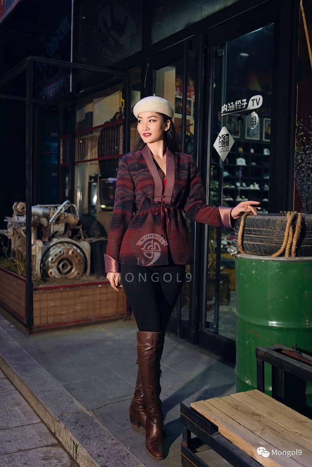 为我的蒙古闺蜜们而设计 第6张 为我的蒙古闺蜜们而设计 蒙古服饰