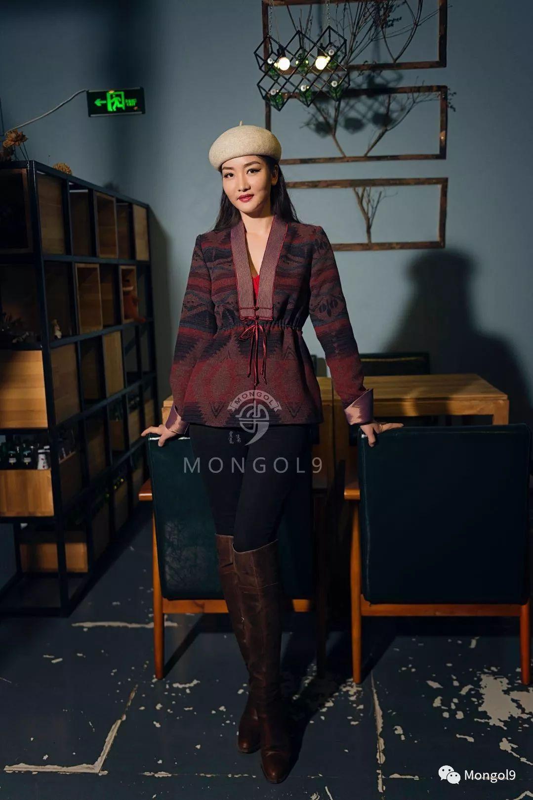 为我的蒙古闺蜜们而设计 第7张 为我的蒙古闺蜜们而设计 蒙古服饰