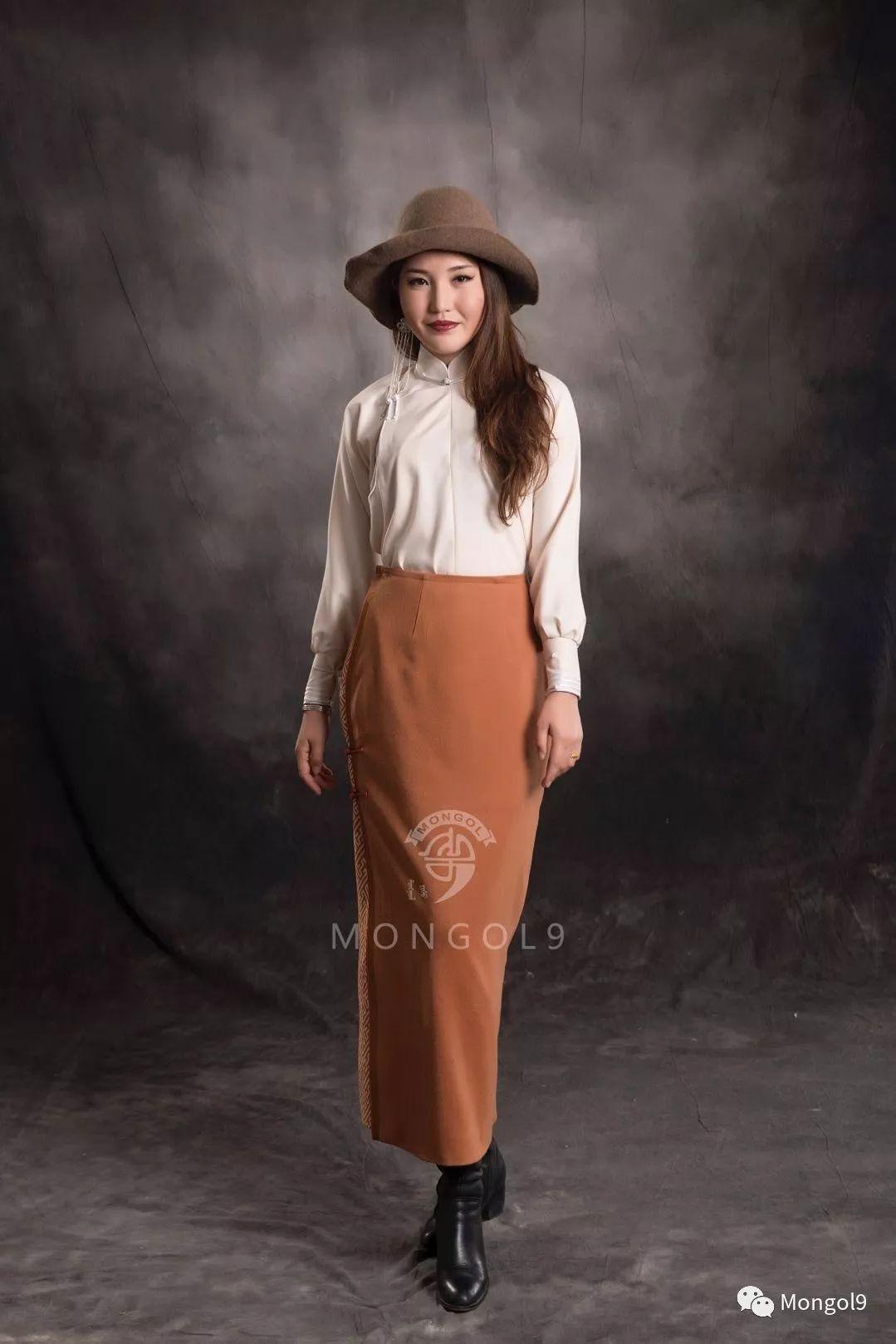 为我的蒙古闺蜜们而设计 第15张 为我的蒙古闺蜜们而设计 蒙古服饰