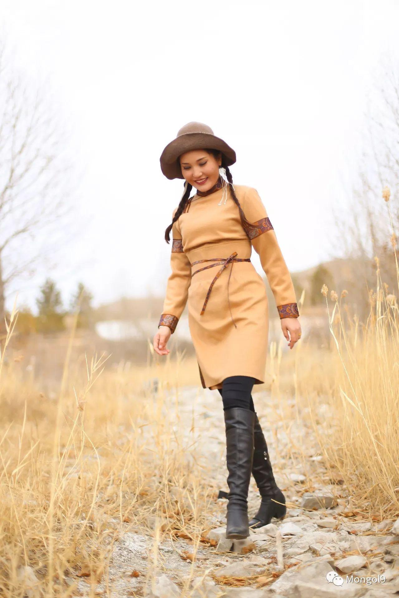 为我的蒙古闺蜜们而设计 第16张 为我的蒙古闺蜜们而设计 蒙古服饰