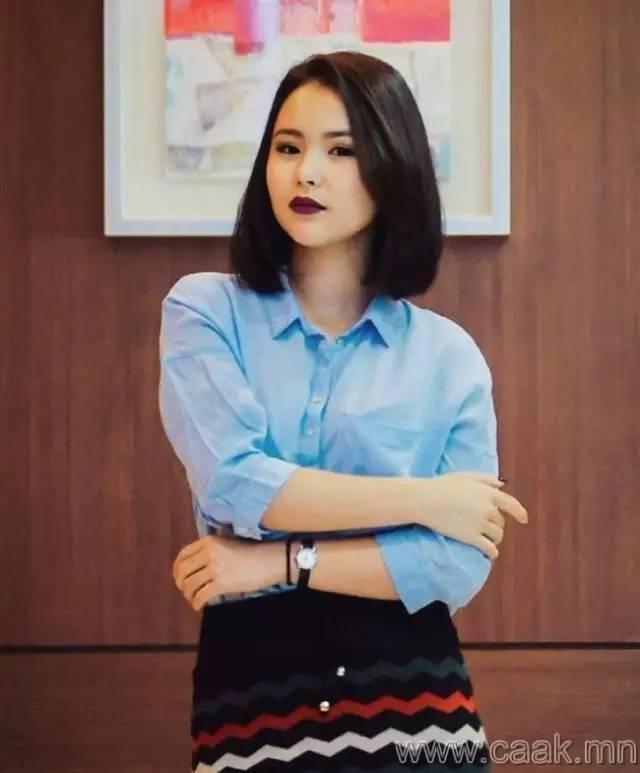【蒙古美女】穿制服的蒙古美女们 美的没谁了 第6张