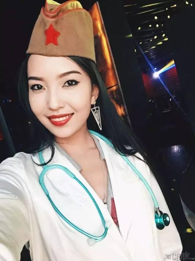 【蒙古美女】穿制服的蒙古美女们 美的没谁了 第21张
