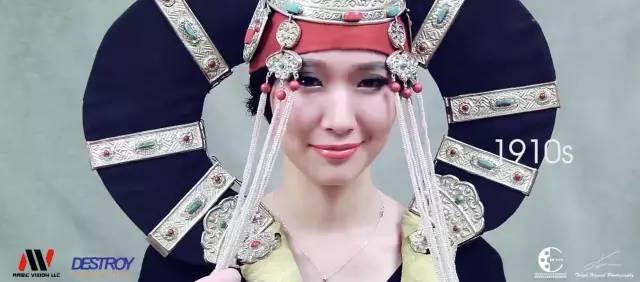 蒙古女人百年之美,你最喜欢哪个年代? 第2张