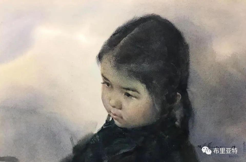 蒙古国少有的水彩画大师孟赫巴特尔作品欣赏 第21张