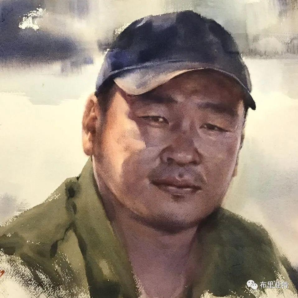蒙古国少有的水彩画大师孟赫巴特尔作品欣赏 第50张