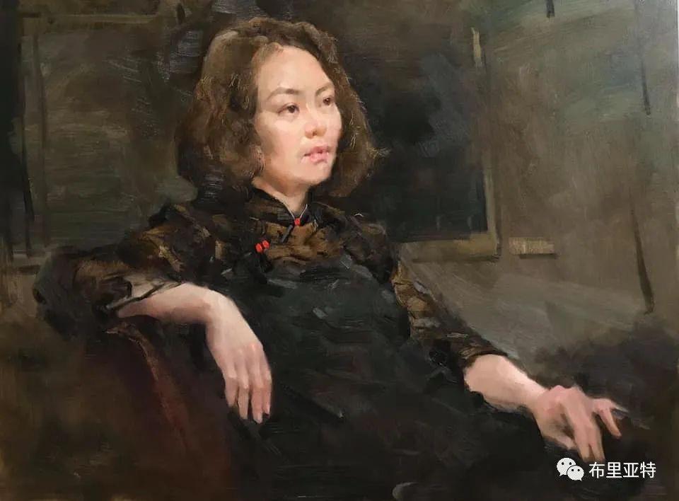 蒙古国少有的水彩画大师孟赫巴特尔作品欣赏 第51张
