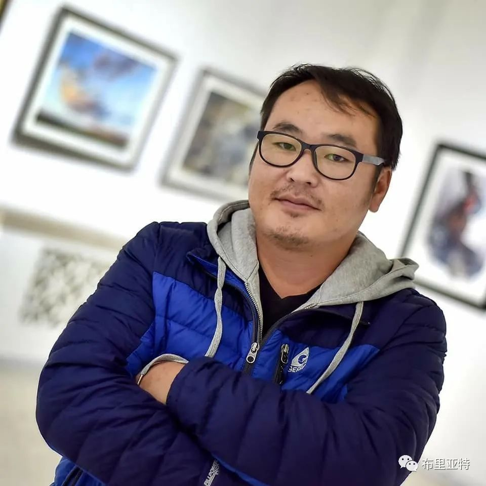 蒙古国少有的水彩画大师孟赫巴特尔作品欣赏 第65张
