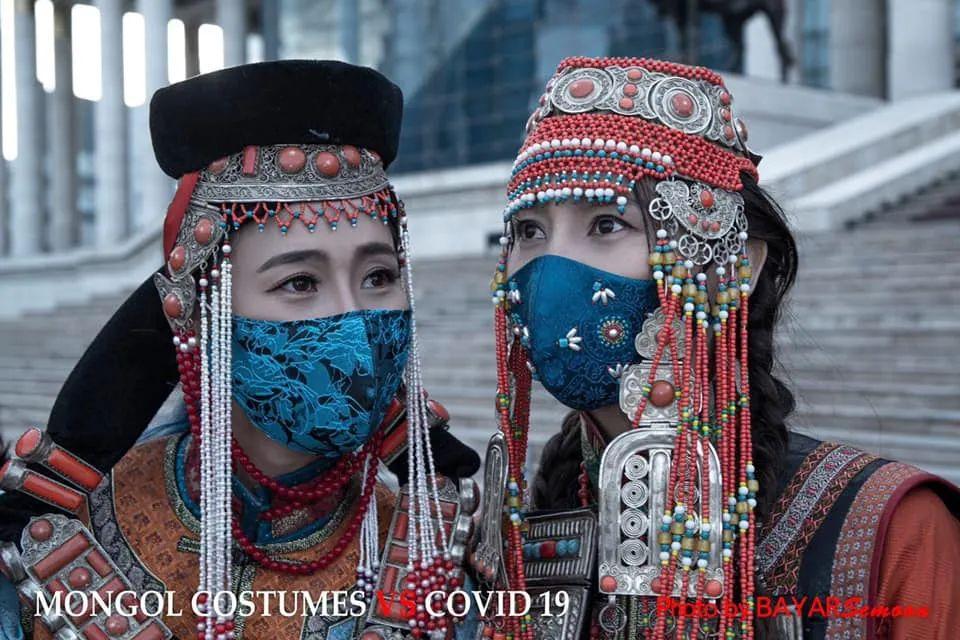 图片:蒙古服装VS新冠病毒 第9张 图片:蒙古服装VS新冠病毒 蒙古服饰