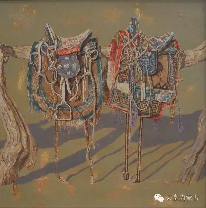 【美图】青年画家柯西格巴图油画作品分享 第9张