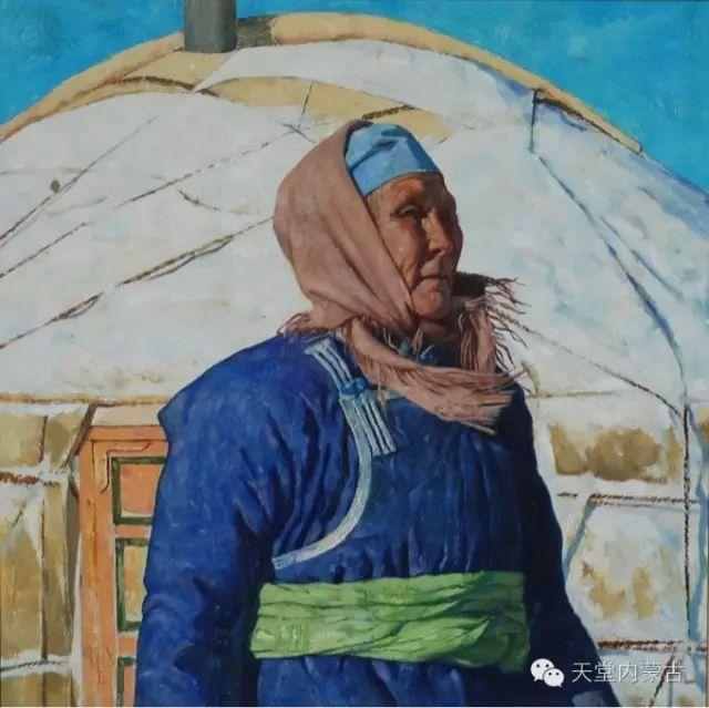【美图】青年画家柯西格巴图油画作品分享 第7张